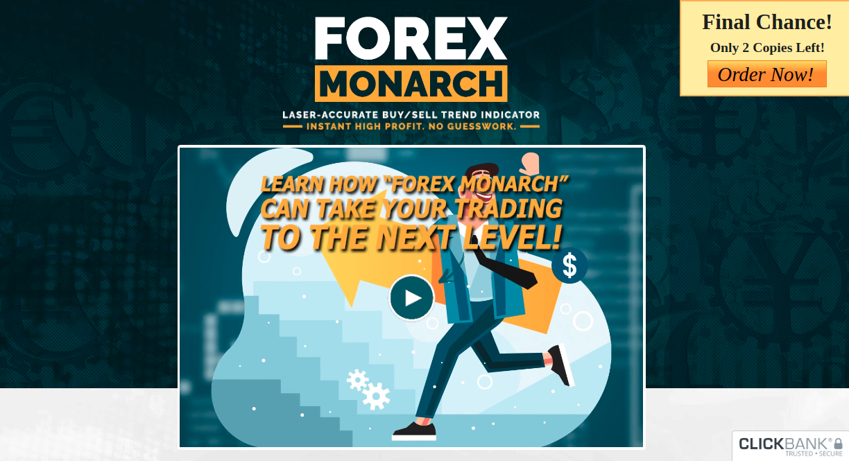 Forex Monarch Review – Self-Updating Algorithm To Make High Profits!