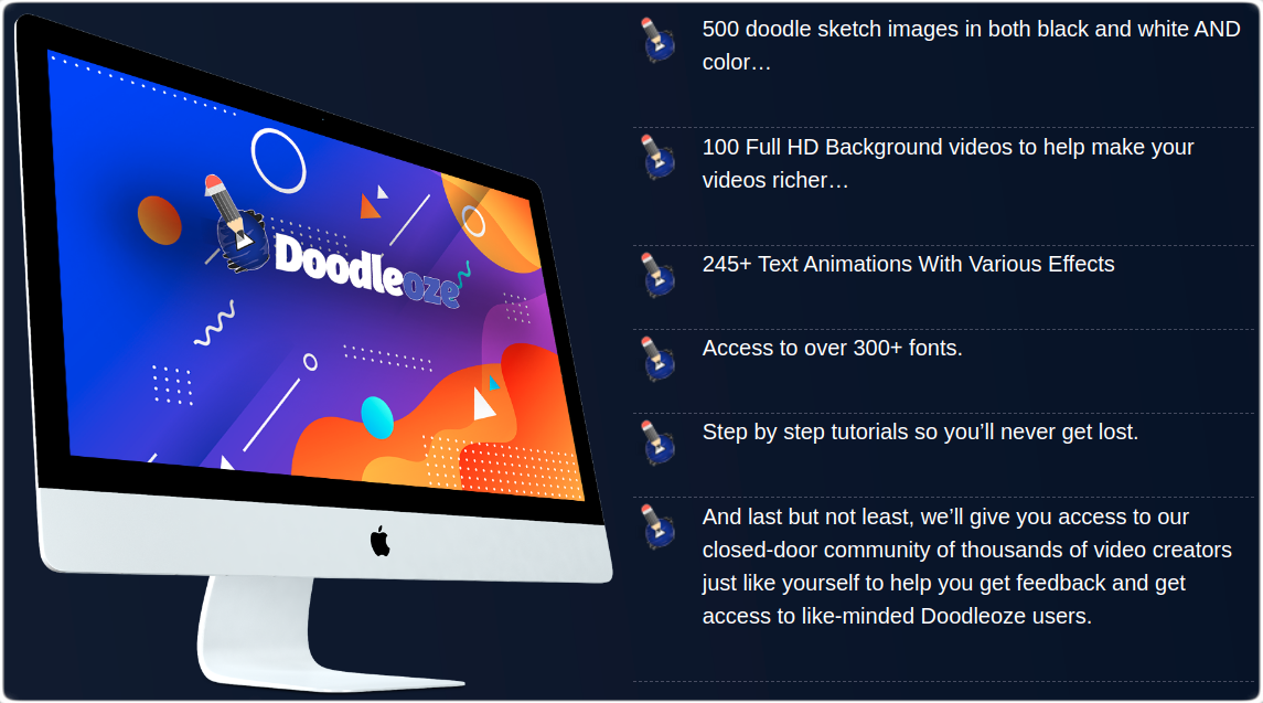 Doodleoze Benefits